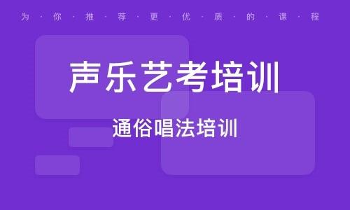 郑州声乐艺考培训机构